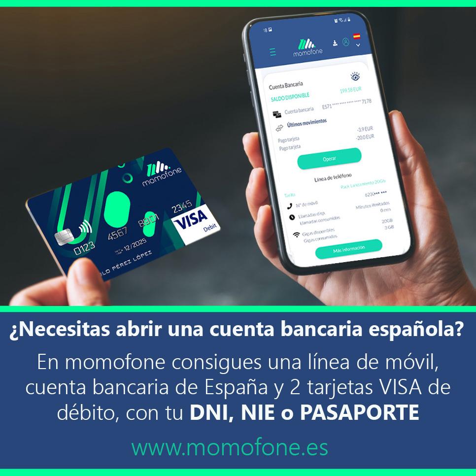 Abrir una cuenta bancaria en España con tu pasaporte