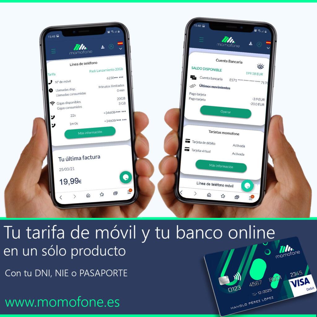 banca online telefonia móvil