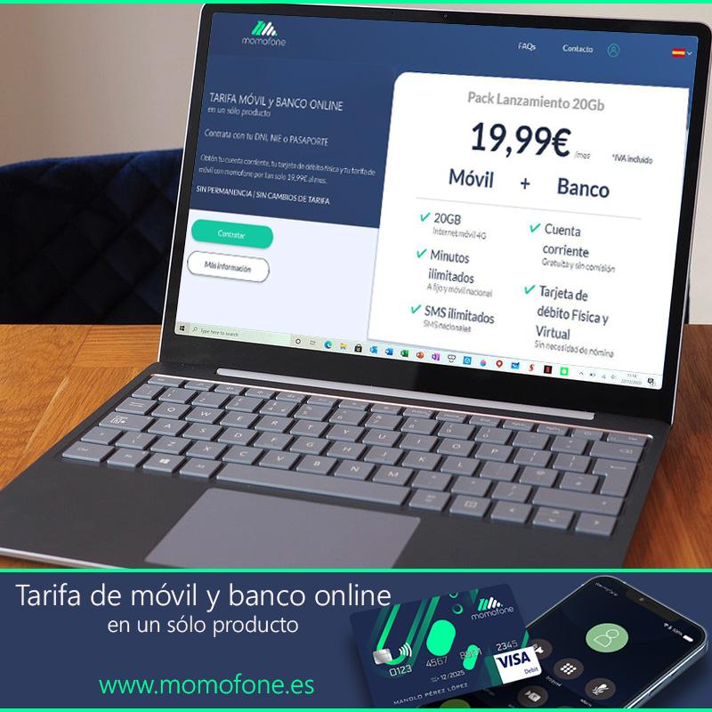 tarifa movil banca online
