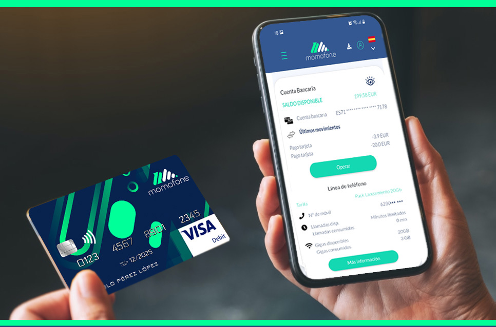 tarifa movil y banca online