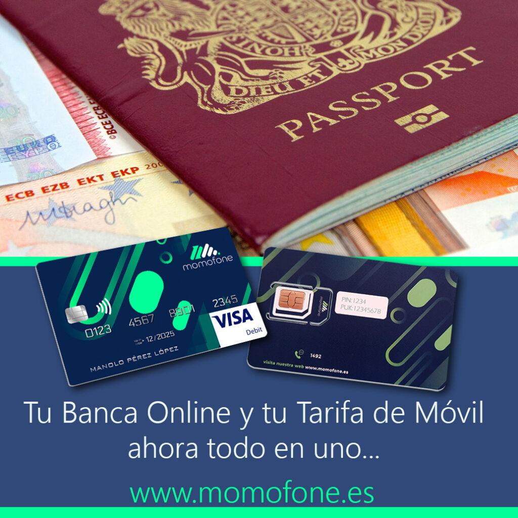 cuenta bancaria con pasaporte